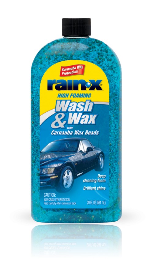 Rain‑X® Wash & Wax with Carnauba Wax Beads