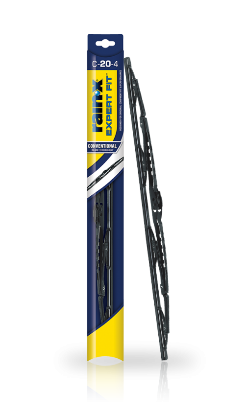 Rain‑X® Expert Fit™ Conventional Wiper Blades