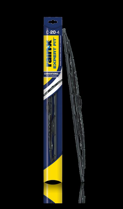 Rain‑X® Expert Fit™ Conventional Wiper Blades